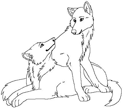 lupo disegni per bambini