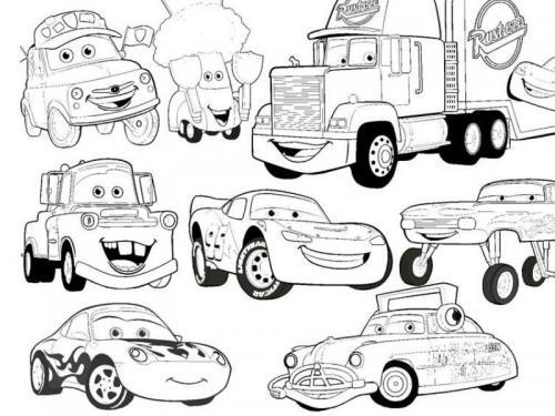 personaggi cars