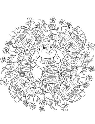 mandala coniglio