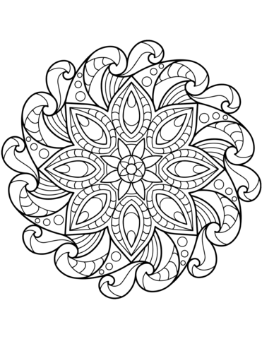 mandala disegno
