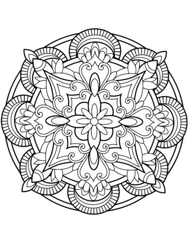 mandala geometrici