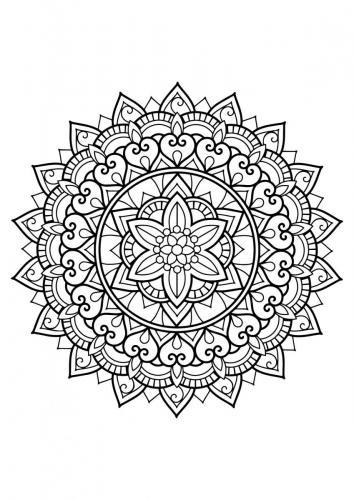 Mandala Per Adulti A Tutto Donna