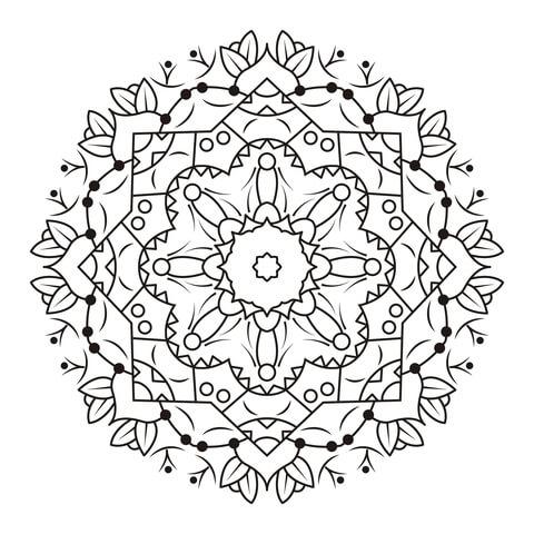 mandala immagini da colorare