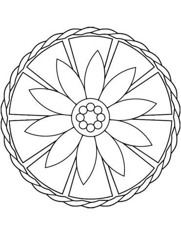 mandala semplici