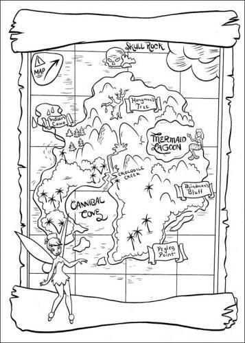 mappa isola che non c'è