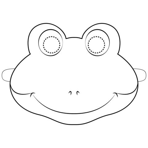 maschera rana