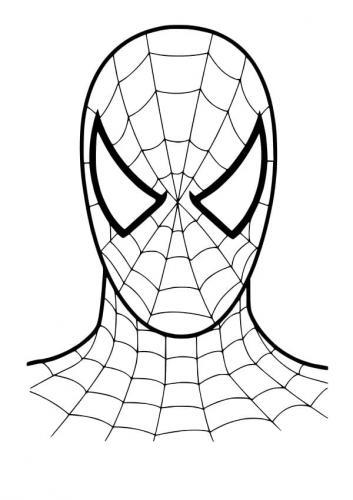 Maschera Di Spiderman Da Colorare.Spiderman Da Colorare 84 Disegni Da Stampare Gratis Per I Bambini