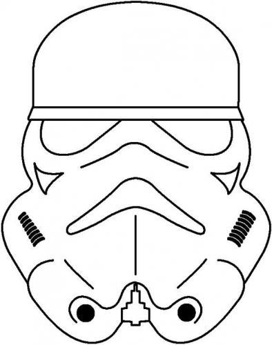 Maschere Star Wars da stampare
