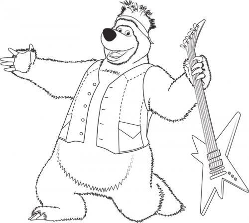 Orso fa la rockstar