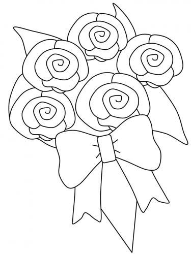 mazzi di fiori disegni