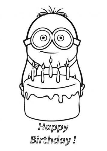 minion buon compleanno