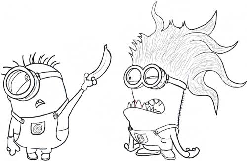 minions e un mostro