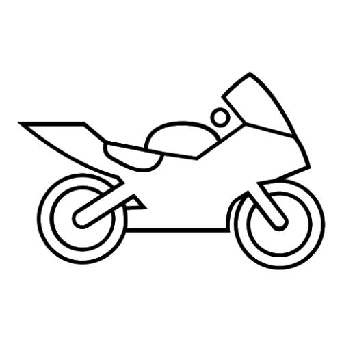 moto da corsa per bambini