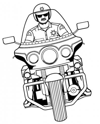 moto disegnata