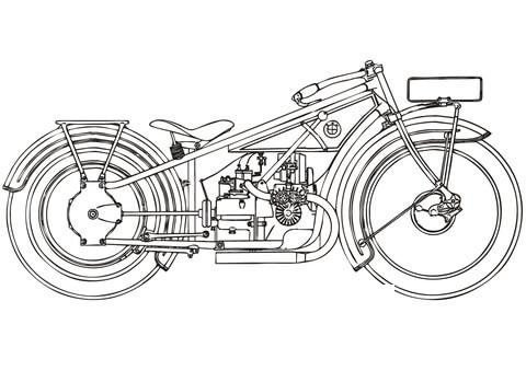 motocicletta disegno