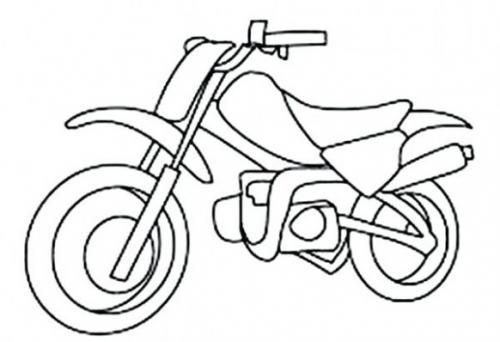 motociclette da colorare
