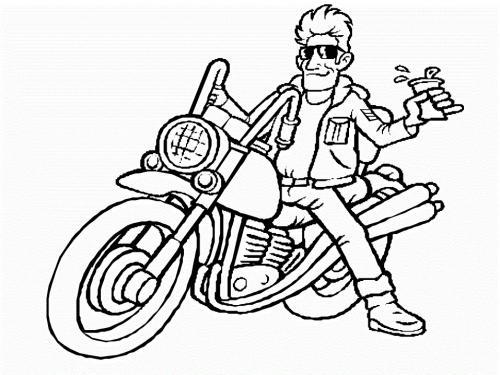 motocross da disegnare