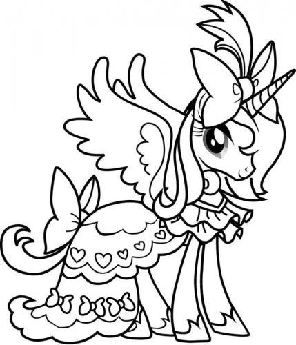 My Little Pony da stampare e colorare