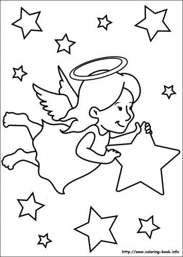 Angioletto che porta una stella