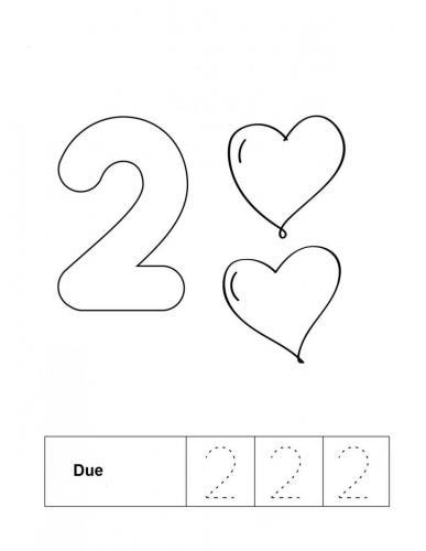 numeri animati da colorare 2