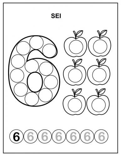 numeri da stampare per bambini 6