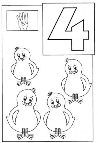 numeri disegni 4