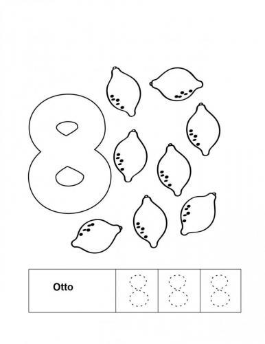 numeri per bambini da stampare 8