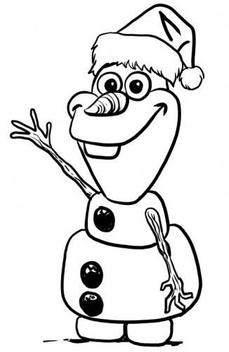 Olaf a Natale