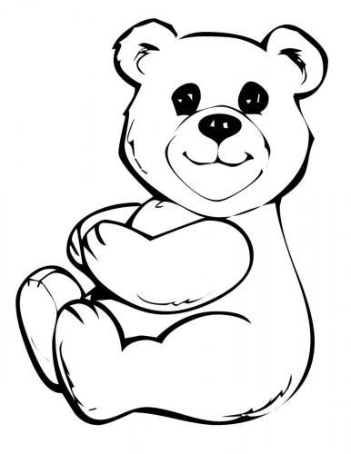 orsacchiotto da disegnare
