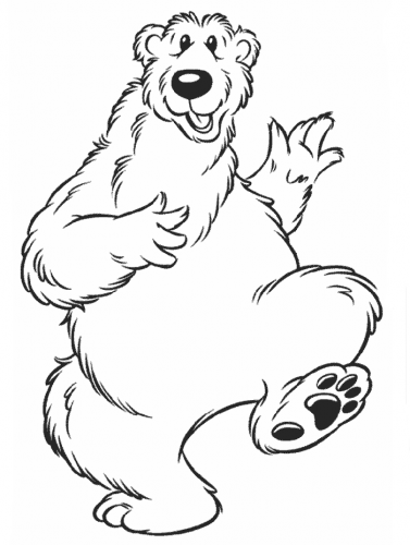 orsi da colorare per bambini