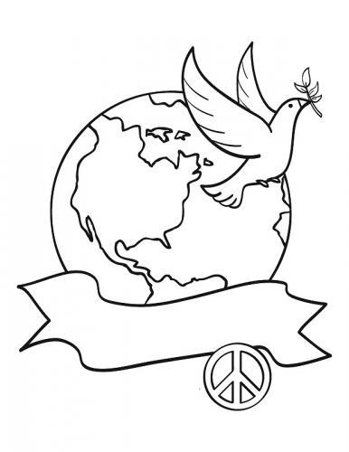 il mondo e la colomba