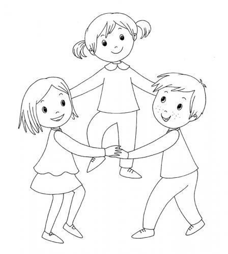 bambini girotondo