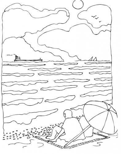 immagine del mare romantica