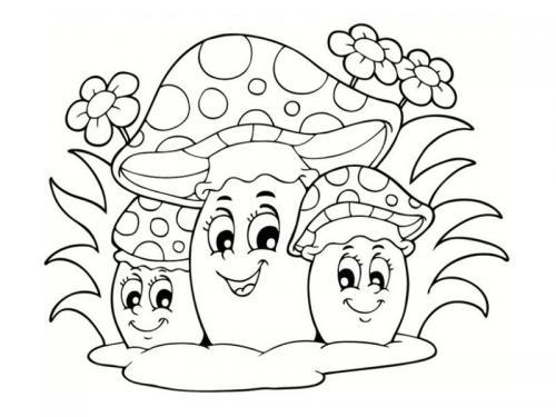 Funghi sorridenti