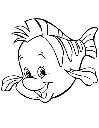 Flounder che sorride
