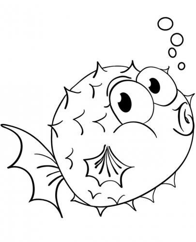 pesce palla che fischia