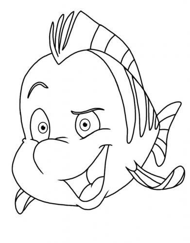 pesciolino amico di Ariel