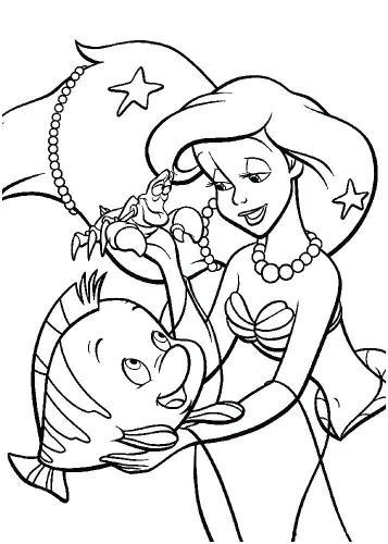 Flounder e la sirenetta insieme