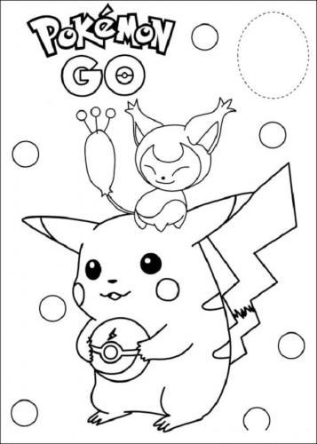 Pikachu colorato
