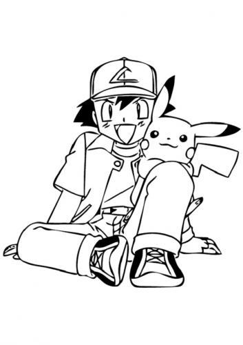Pikachu da disegnare