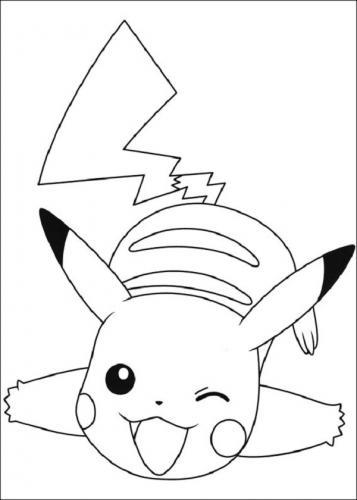 Pikachu disegno