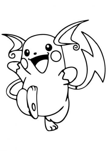 Pokémon disegni da colorare