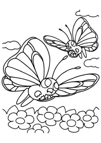 Pokémon disegni da stampare