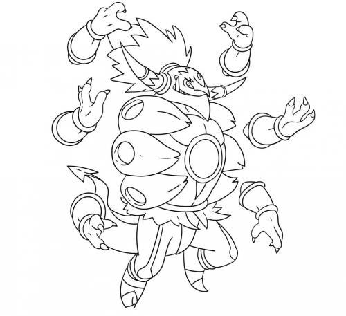 Pokémon immagini da colorare