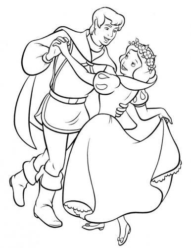 Il principe balla con Biancaneve