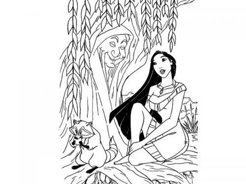 Pocahontas e la natura