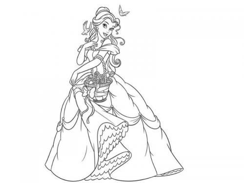 Belle passeggia