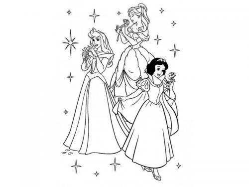 Belle, Biancaneve e Aurora
