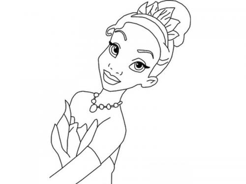 disegno Tiana