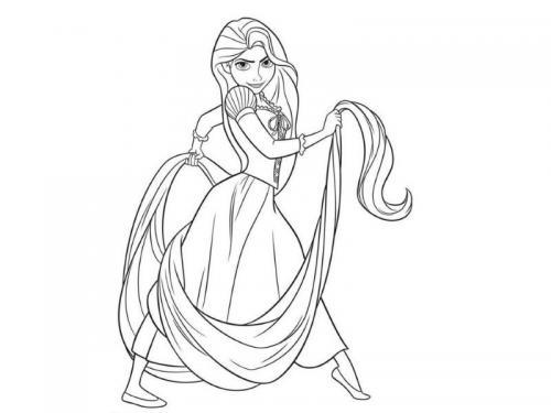 principesse immagini Rapunzel